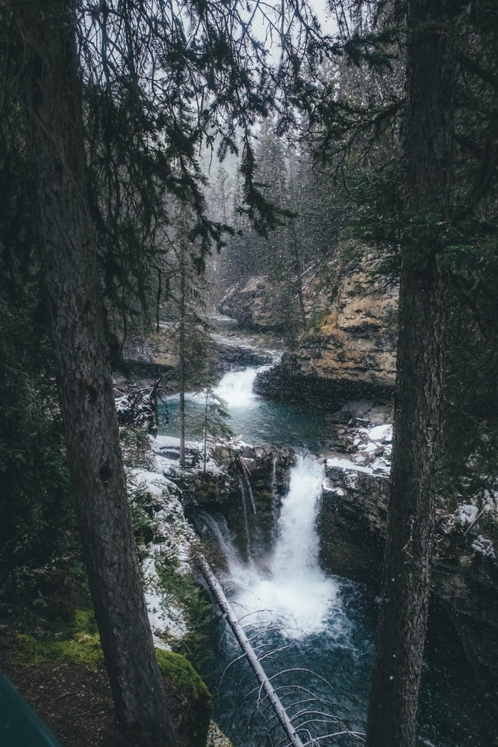 waterfall-in-middle-of-forest