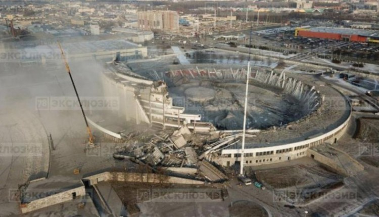 Sports Arena In St Petersburg Russia