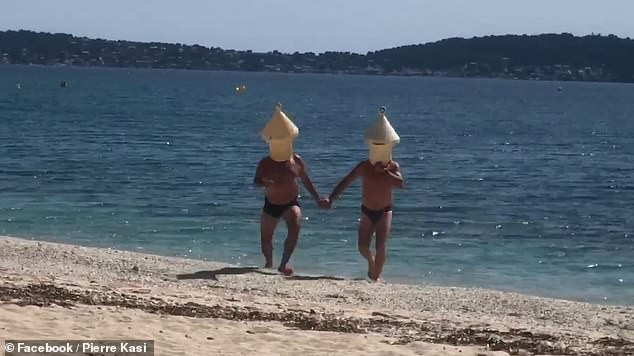 two-french-swimmers-tried-to-break-the-quarantine-rules-dressing-in-a-hilarious-disguise-but-the-police-caught-them