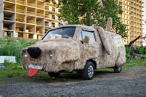 fur-car-dog-spotted-in-a-russian-city