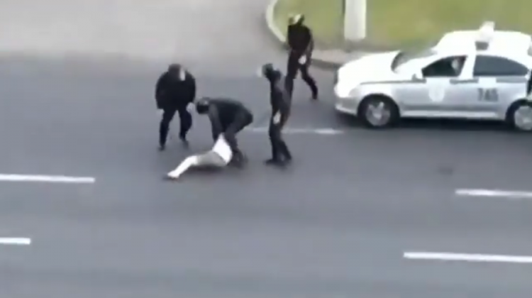 video-shocking-images-from-belarus-an-elderly-man-who-demanded-answers-from-the-masked-men-knocked-to-the-ground-and-beaten-with-sticks