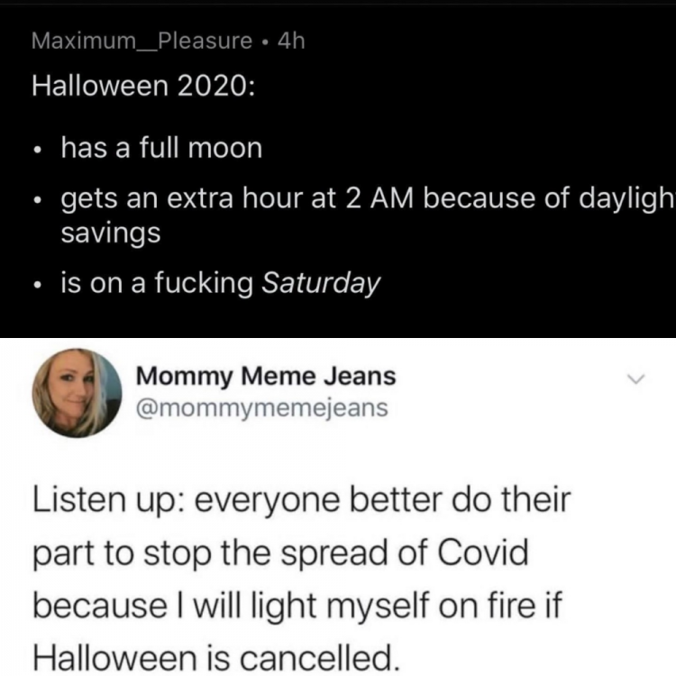 50 Halloween Memes for 2020 during Covid-19 Pandemic