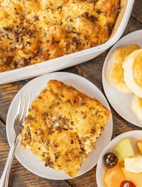 sausage-and-ranch-tater-tot-perfect-breakfast-casserole