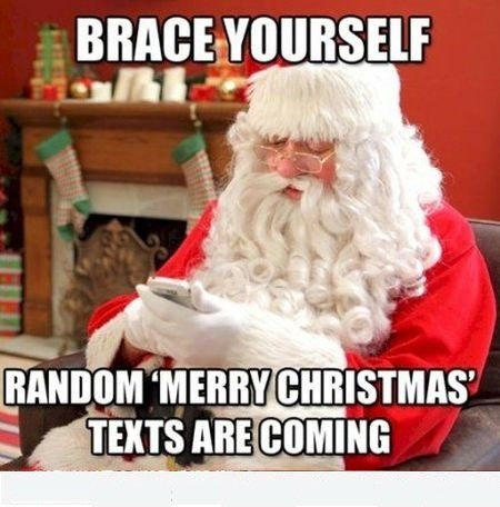 Brace yourself Merry christmas Meme