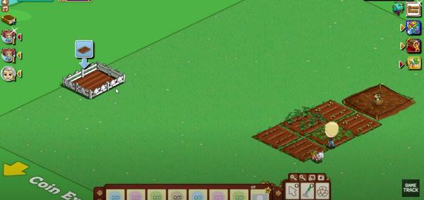 A screenshot of the FarmVille game