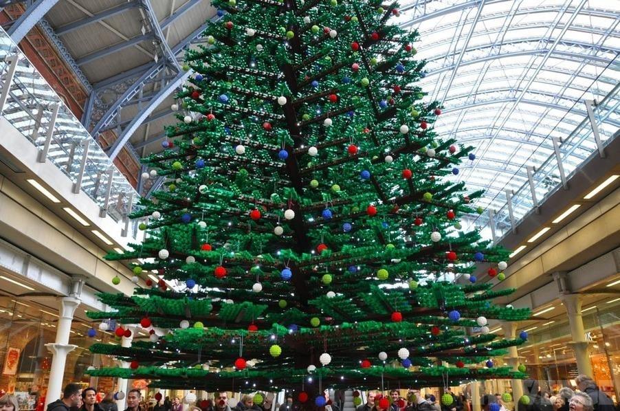 Прикольные, крутые и нелепые. Самые-самые рождественские елки в мире