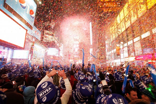 The best places in the US to celebrate New Year's Eve - Insider