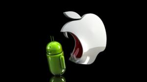 Google vs Apple Meme