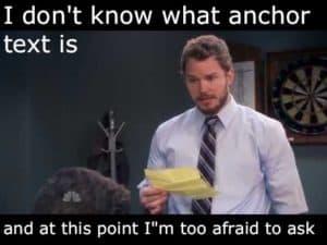Anchor Texts Funny Meme