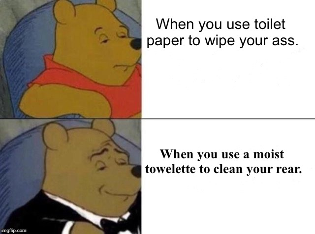 Dank Tuxedo winnie the pooh meme with captions,