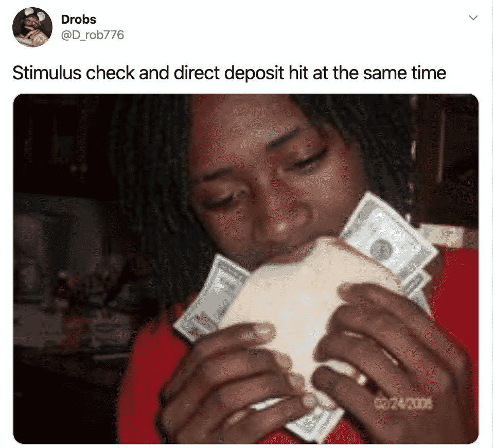 Stimulus Checks Are Dropping And So Are The Stimulus Check Memes
