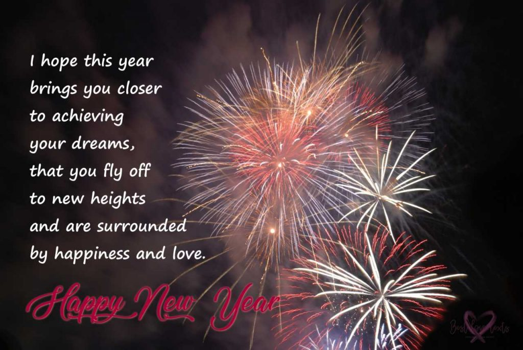 Happy New Year Messages For 2021 - Best Love Texts