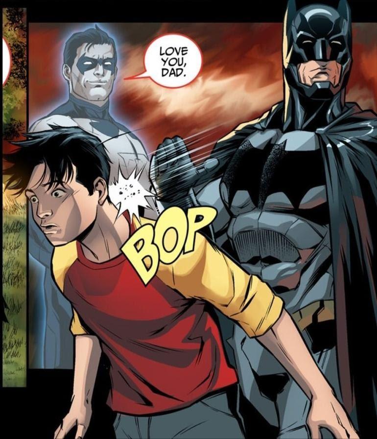 Batman being a good parent : outofcontextcomics