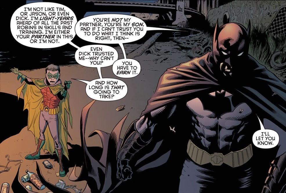 batman being father | Batman love, Batman and superman, Superhero comic