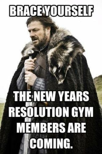 Pin by Maddie Glass on new years humor | Gym humor, Funny new years memes,  New year meme