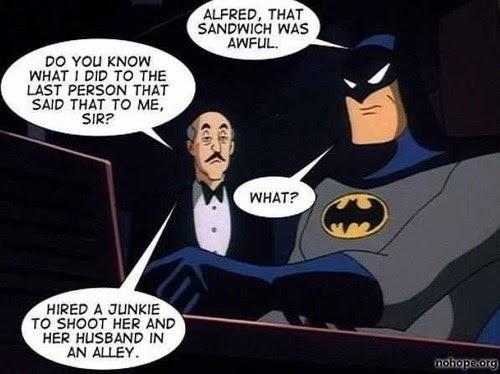 Never Insult Alfred - Superheroes - superheroes, batman, superman,  avengers, spiderman, Pokémon GO