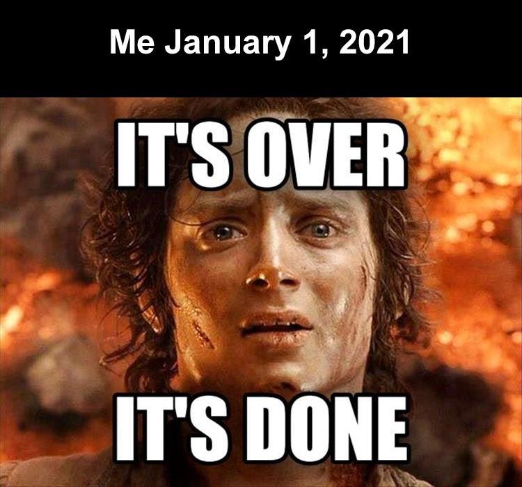 me January 1 2021 - Dump A Day