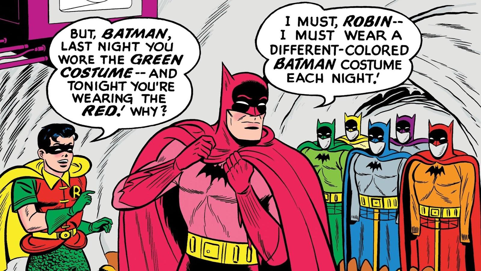 "Classic Cover of the Week: DETECTIVE COMICS #241 (""The Rainbow Batman!"")"