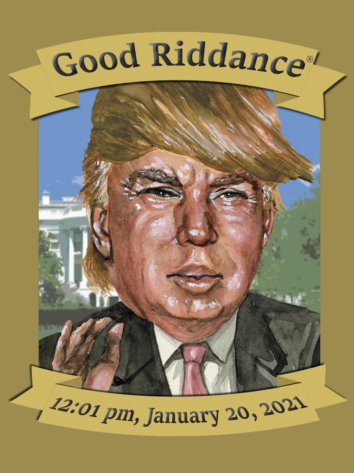 January 20, 2021 Sticker | January 20, January, Trump memes