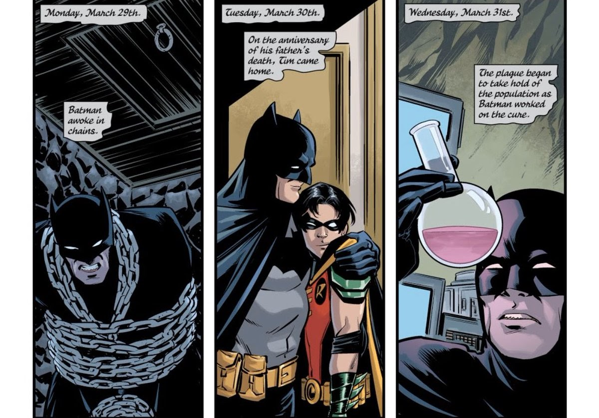 """▫️ on Twitter: """"Finding cures for the plague, supporting people off that  proverbial ledge, being a dad.....That's Batman, baby. Everyday…  https://t.co/CM3y5DZknx"""""""