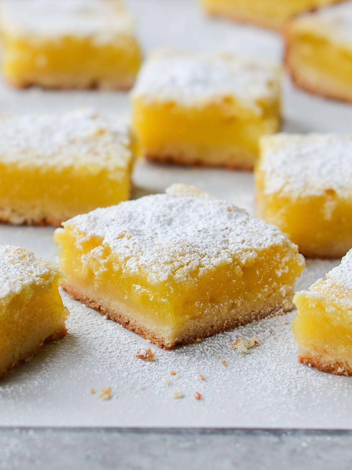 Luscious Lemon Bars - Once Upon a Chef