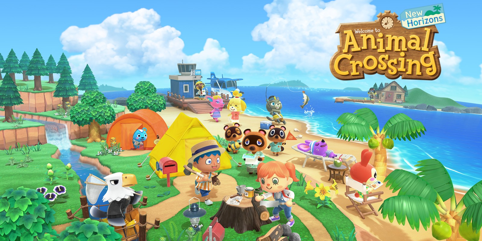 Animal Crossing: New Horizons | Nintendo Switch | Игры | Nintendo