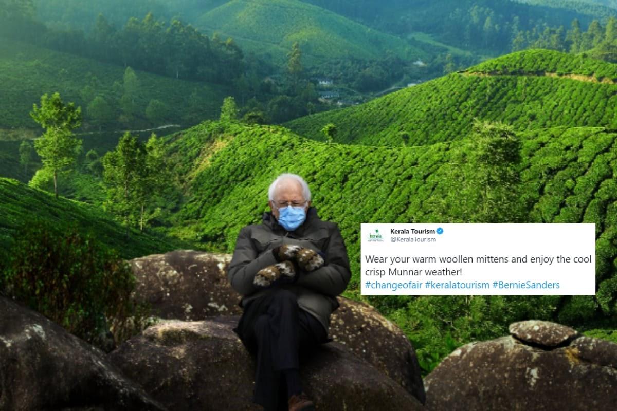 Bernie Sanders in Munnar? Kerala Tourism's Hilarious Meme on Viral US  Senator Pic is a Win
