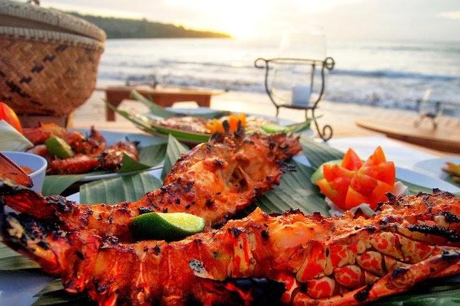 Bali Jimbaran Bay Seafood with Sunset View 2021