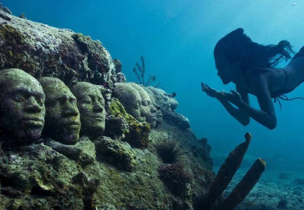 A Look at MUSA: Mexico's Underwater Museum | Monterey Boats