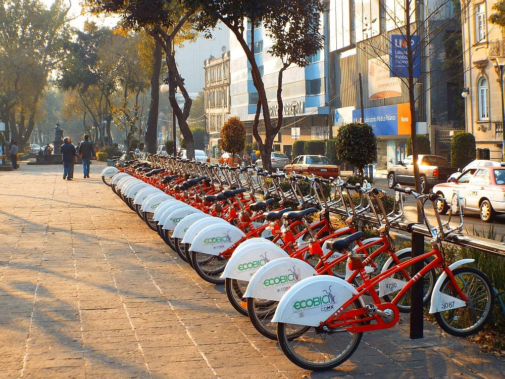Renting a bike in Mexico City - Mexico City Streets