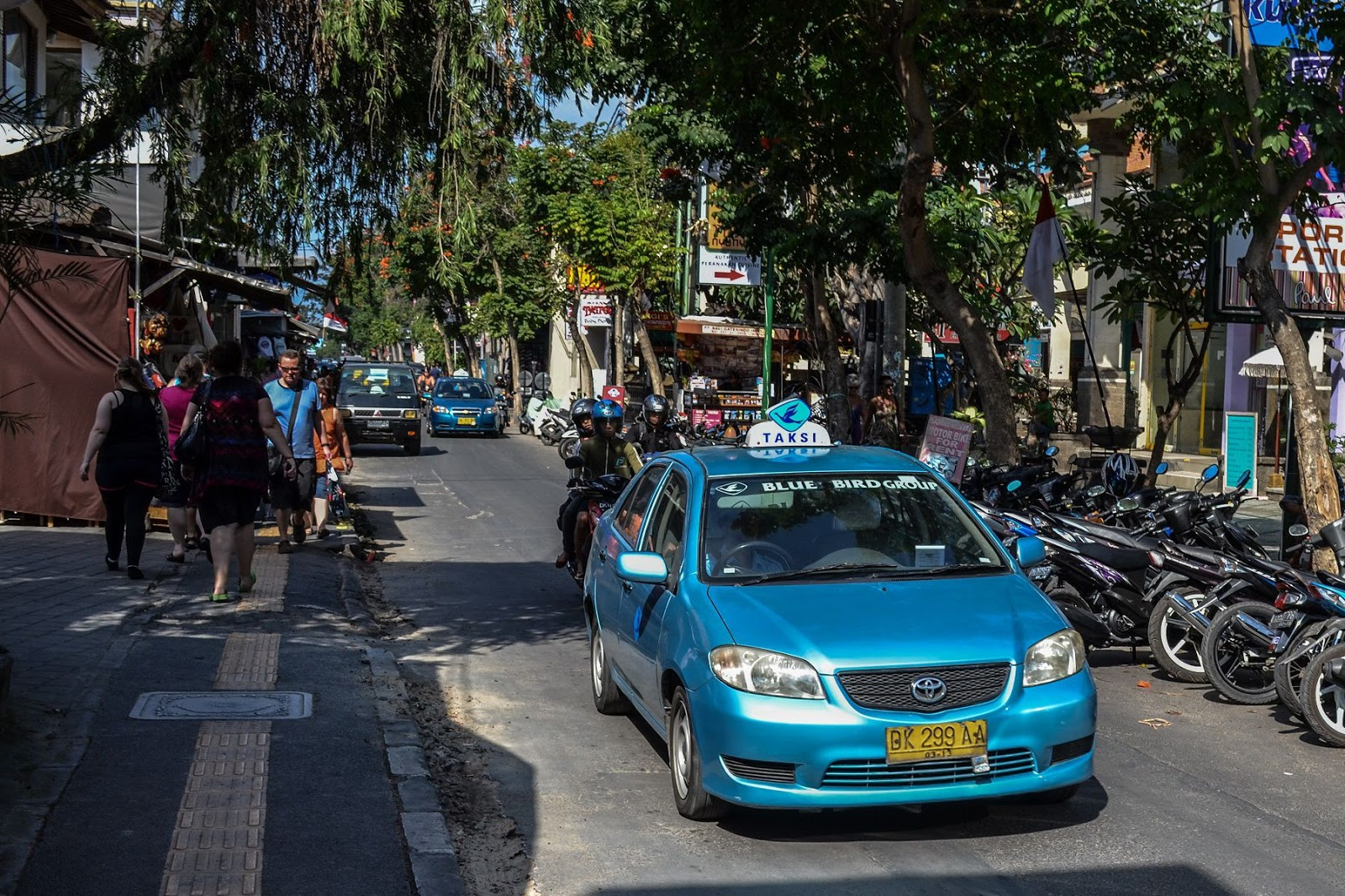 How to Ride Blue Bird Taxi & Others in Bali, Indonesia