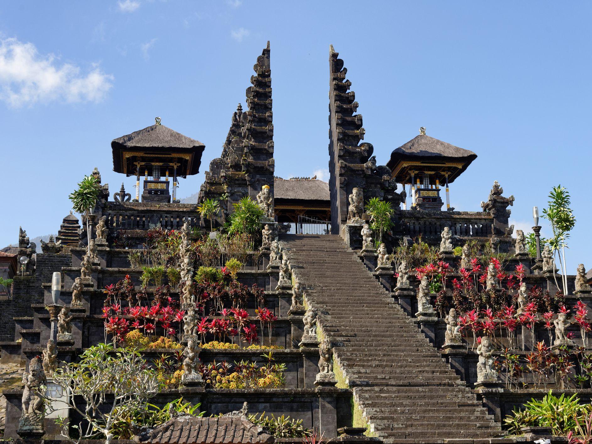 Pura Besakih, Temple on Gunung Agung, Bali, Indonesia