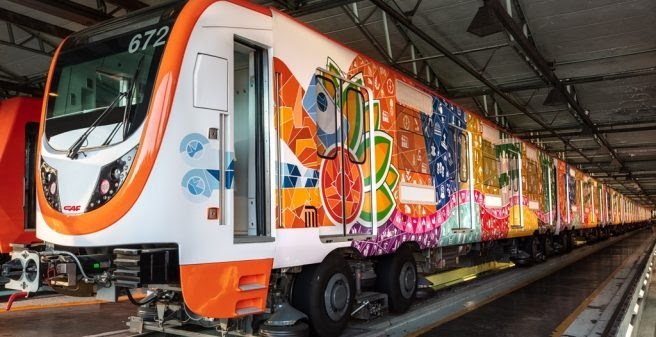 Fleet modernisation for the 50th Anniversary of the Mexico City metro -  Urban Transport Magazine