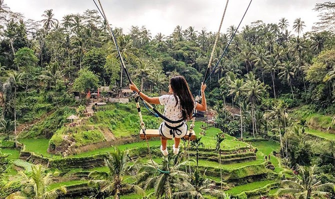 Ubud Bali Swing Location - Bali Gates of Heaven