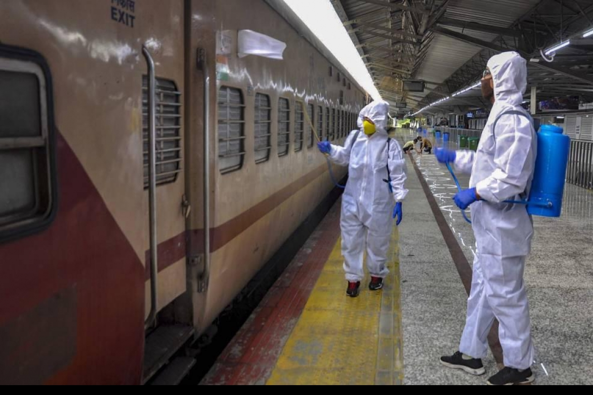 Passengers disallowed train travel due to COVID-19 symptoms to get full  refund: Railways- The New Indian Express