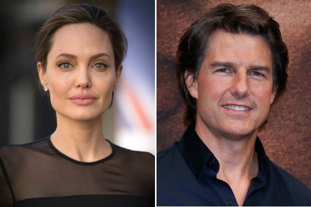 Are Angelina Jolie & Tom Cruise Dating? | Celebuzz