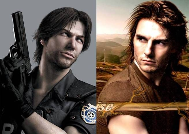 Kevin Ryman From Resident Evil And Tom Cruise | Celebrity entertainment, Video  game characters, Game character