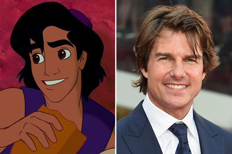 The inspiration behind your favourite Disney characters – from Tom Cruise  to the Beatles and an iconic drag queen