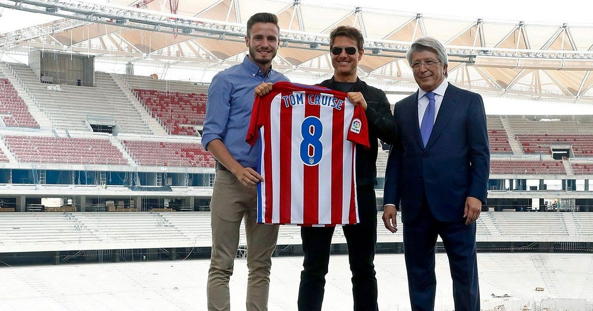 Tom Cruise 'supports' Atletico Madrid… but he's not the only Hollywood star  with an unlikely 'soccer' team - Mirror Online