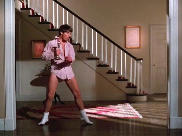 Tom Cruise, Risky Business, Old Time Rock & Roll #80's | Risky business  costume, Risky business, Tom cruise risky business