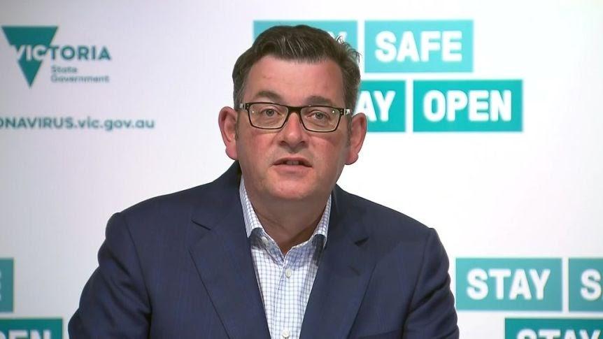 """Картинки по запросу """"Victorian premier Dan Andrews announces Covid lockdown – as it happened"""""""