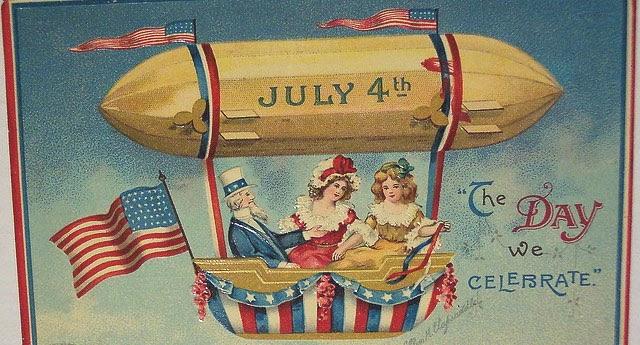 Постеры на тему Дня независимости стали модным трендом