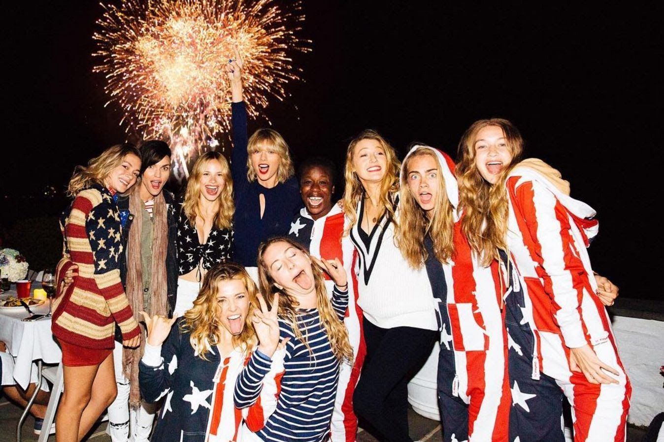 How Real Was Taylor Swift's Fourth of July Party? An Investigation