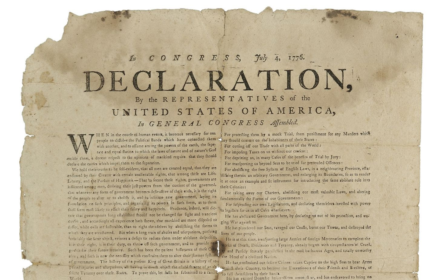 What does the Declaration of Independence mean to you? - The Boston Globe