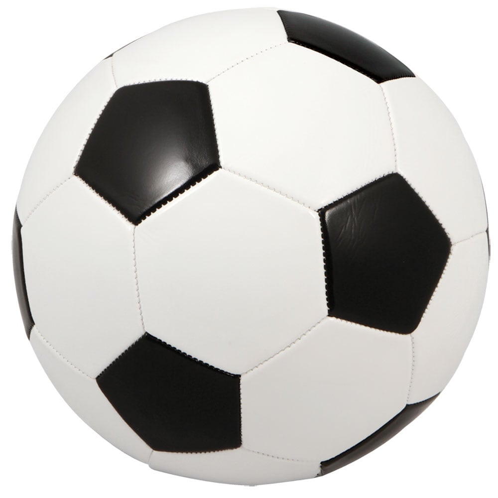 Black and White Synthetic Fiber Regulation-size Premium Inflated Soccer Ball  - On Sale - Overstock - 13341958