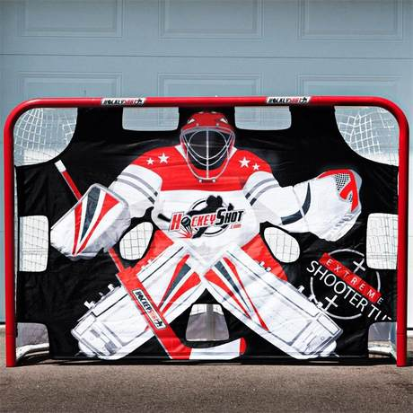 Imported hockey batting cloth standard goal size training target ice hockey  hockey goalkeeper training cloth