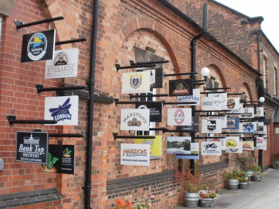 Бёртон-на-Тренте не один век известен своими пивоварнями. Здесь располагается Национальный пивоваренный центр, где можно познакомиться с историей изготовления напитка в городе / Фото: Weekend Notes